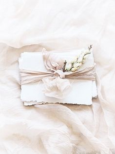 Taupes, pastels and neutrals are what I'm all about! Loving this from - can't wait to share more from this pretty shoot! Gorgeous ribbon and fabric from Wedding Stationery, Wedding Invitations, Invites, Niklas, Love Letters, Soft Colors, Wedding Cards, Wedding Paper, Wedding Details