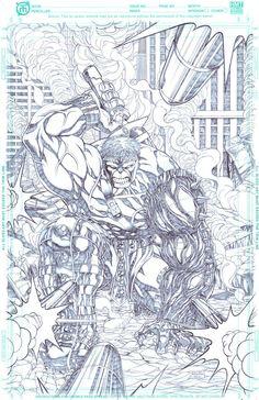 #Hulk #Fan #Art. (The War Hulk) By: Zany88. (THE * 5 * STÅR * ÅWARD * OF: * AW YEAH, IT'S MAJOR ÅWESOMENESS!!!™) ÅÅÅ+