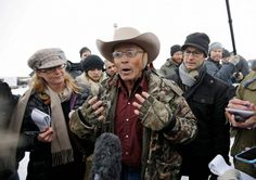 Fresh Outrage After Malhuer Militia Seen Rifling Through Tribal Artifacts At Oregon Refuge - LaVoy Finicum, a rancher from Arizona, is part of the group occupying the Malheur National Wildlife Refuge.