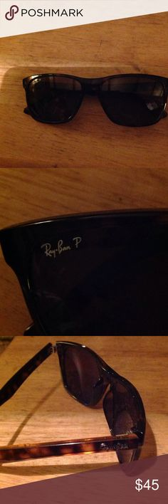 Ray Ban Wayfarer sunglasses - tortoise. Good condition. Ray Ban Accessories Glasses
