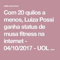 Com 20 quilos a menos, Luiza Possi ganha status de musa fitness na internet - 04/10/2017 - UOL Estilo de vida