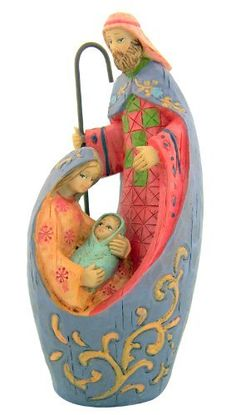 Holy Family Adoring Mother with Child Christ Nativity Christmas Statue * More info could be found at the image url.
