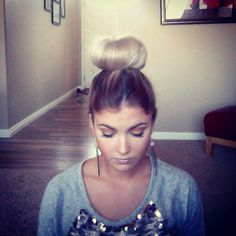 How to do the ballerina bun without a sock