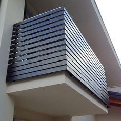 Parapetto per terrazze in ferro e acciaio inox | Home - Garden ...