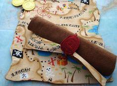 cloth pirates map, genius!