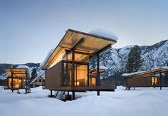Rolling Huts Mazama House, by Olson Kunding