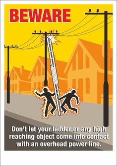Funny Safety Slogans, Construction Safety, Safety Posters, Electrical Safety, Laos