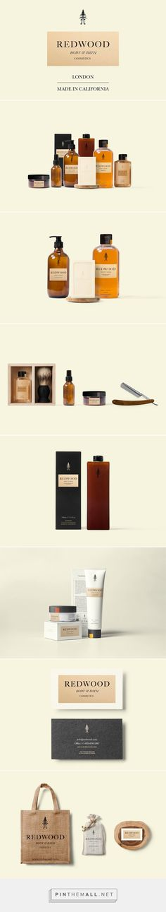 Redwood Cosmetics on Behance by Dominic Rios Sakalauskas London, UK curated by Packaging Diva PD. Simple and great packaging.