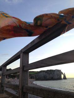 Falaises d'Etretat | Ruth Dent Artist Falaise Etretat, Claude Monet, Arch, England, France, Abstract, Artist, Summary, England Uk