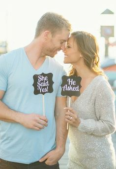 Romantic engagement shoot ideas!