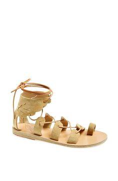 Ancient Greek Lace Up Sandals