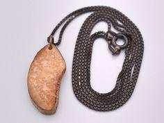 Alaska Lynx Cat Knuckle Bones Wire Wrap Antiqued Finish Sterling Silver Pendant Necklace