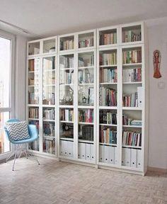 54 IKEA Billy Bookcase Hacks   ComfyDwelling.com
