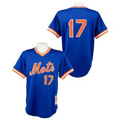 New York Mets Keith Hernandez Authentic 1986 BP Jersey by Mitchell & Ness - MLB.com Shop