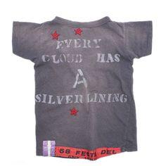 DENIM DUNGAREE(デニム&ダンガリー):ビンテージテンジク 31 Tシャツ 4NV紺 の通販【ブランド子供服のミリバール】