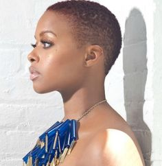 TWEENY WEENIE AFRO | Teeny Weeny Afros & More: Celebrity Women Who Have Done the Big Chop ...