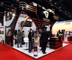 Gulf O Flex Exhibition stand designed and produced by Strokes Exhibits llc Dubai at Dubai world trade centre, Dubai