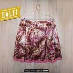 Pink Silky Leopard Print Pleated Skirt 🌸 I will be taking this skirt down NOV. 5th. If you are interested, buy now! I am open to holding the skirt online if asked before 11/5, otherwise I will be taking it down. 🌸                   This skirt is in Like New condition!   Features:  * Pleated  * Pink, tan, and brown * Leopard print pattern  * Trimmed with pink  * Hidden zipper   Measurements:  * Tag is cut off, guessing XL  * Waist is 34in.   * Length is 24in.    No trades. Ask any…