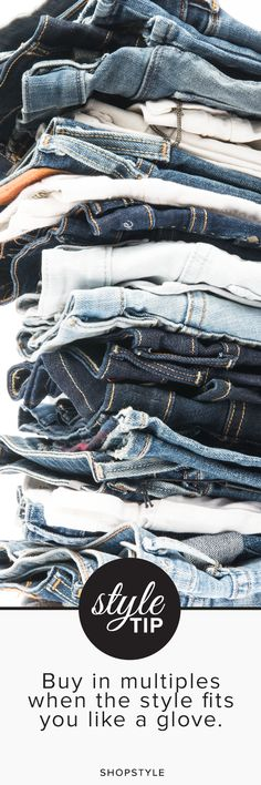 Denim addict. #styletip
