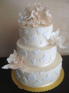 Wedding Cake by Roscoe Bakery