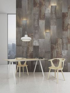 4 Most Simple Tips Can Change Your Life: Kitchen Pallet Wall Decor wrought iron wall decor sconces.Metal Solder Art Wall Decor Milky Way Galaxy embossed medallion metal wall decor. Metal Wall Panel, Metal Panels, Metal Wall Decor, Sheet Metal Wall, Wall Finishes, Decorative Panels, Wall Cladding, Concrete Wall, Wall Treatments