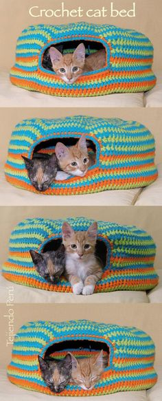 Catbed crochet