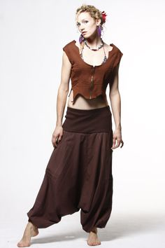 Unisex Afghan Trousers with large pockets £34.99 by GEKKO BOHOTIQUE  Goa Trance,Steampunk,Psytrance,Hippie,Boho,Tribal festival clothing. Pocket belts, hats and wrists Warmers.Come visit our shops in Camden and Greenwich Markets