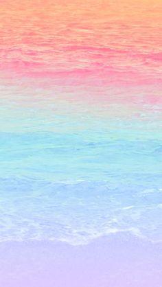 Matt Crump photography iPhone wallpaper Pastel Bermuda ocean beach