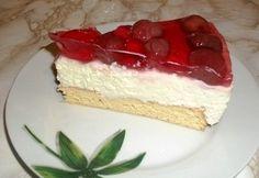 Túrókrémes gyümölcstorta Cookie Desserts, Sweet Desserts, Cake Cookies, Vanilla Cake, Baking Recipes, Food To Make, Tart, Muffins, Cheesecake