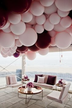 Harry the hirer | Sofiya's 1st Birthday | Collaboration with Styled By Coco - Madison Lounge & Chair, Luxe Coffee Table & Round Filament Globes. Balloons by Belle Balloons.