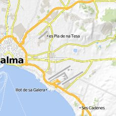 Discover all cycling routes and bike maps in and around Palma de Mallorca