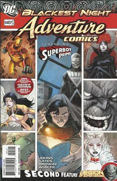 DC Adventure Comics comic issue 507 Limited variant