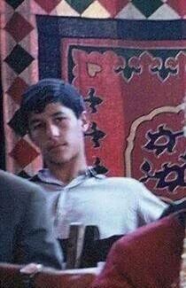Imran Khan in Teenage