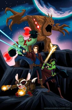 With the movie coming up, I wanted to do a Guardians, Disney crossover. The order goes: Flynn Rider: Star Lord Jasmine: Gamora Wreck it Ralph: Drax the. Disney Marvel, Disney Pixar, Art Disney, Disney Kunst, Marvel Art, Disney And Dreamworks, Marvel Avengers, Disney Characters, Humour Disney