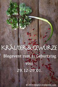 BirgitD 1. Blog-Geburtstag