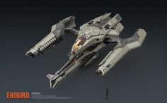 ArtStation - Trident Bomber, Fan Zhang: