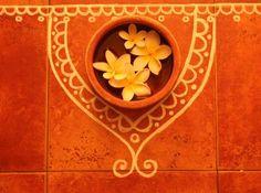 Bright Ideas for Diwali Decorations Bright Ideas for Diwali rangoli.jpg Diwali Home Decoration Ideas Diwali Decorations At Home, Festival Decorations, Rangoli Designs, Home Design, Floor Design, Decorating Blogs, Interior Decorating, Interior Ideas, Indian Interior Design