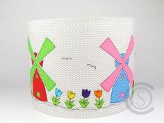 Lampenschirme - Lampenschirm 30cm - ein Designerstück von ColorsOfSoul bei DaWanda Kinderzimmer