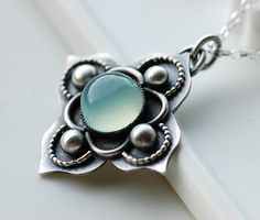Ferry Garden NecklaceHandmade in Sterling Silver and by EONDesign, $104.00