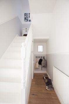 Bonnie & Russell's Scandi-Style Victorian: PAINT & COLORS: Farrow and Ball: All White, Dimpse, Manor House Grey, Pavilion Grey and Skylight Fired Earth: Platinum Pale and Gardeners Bothy