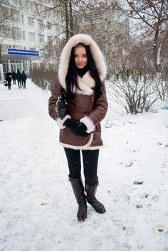 Мода улиц: дублёнка или шуба? | Новости Нижнего Новгорода - Pro Город Нижний Новгород