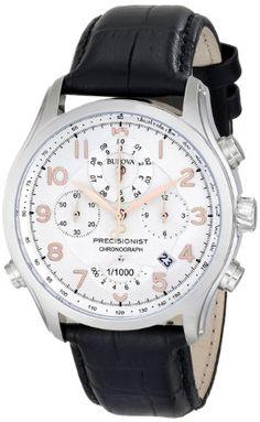 Bulova Men's 96B182 Precisionist Chronograph Strap Watch Bulova http://www.amazon.com/dp/B00B5JVX60/ref=cm_sw_r_pi_dp_e84cub198PARX