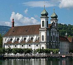 Jesuit Church Lucerne, Switzerland