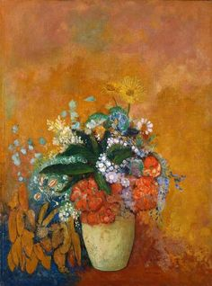 Odilon Redon, Vase of Flowers, c.1905