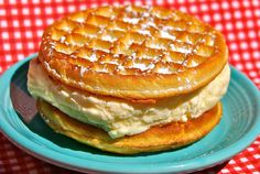 Hot Toasted Waffle Ice Cream Sandwich 17 Insane Foods You'll Find At The Minnesota State Fair New Recipes, Snack Recipes, Snacks, Waffle Recipes, Sweets Recipes, Dinner Recipes, Cooking Recipes, Favorite Recipes, Waffle Ice Cream Sandwich