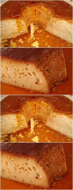 Put warm milk and condensed milk in a blender, beat for about 5 minutes, # recipe # cake # pie # swe Great Desserts, Condensed Milk, Chocolate, Cake Recipes, French Toast, Deserts, Food And Drink, Pasta, Snacks