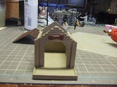 Dog House for Miniature Garden – Teapapers