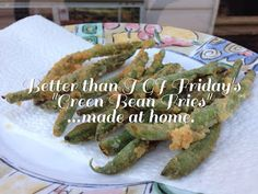 Fried Green Beans Like T.G.I. Fridays
