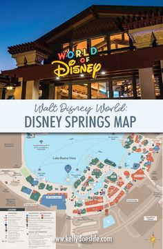 Disney Springs Map Walt Disney World - Updated November Are you planning a trip to Walt Disney World? Here is your Disney Springs Map in Disney World to help plan your family vacation! Disney World Vacation Planning, Disney World Florida, Walt Disney World Vacations, Disney Planning, Disney World Resorts, Disney Parks, Disney Bound, Vacation Ideas, Disney Travel