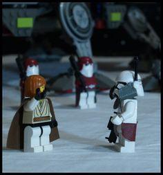 Commander Bacara: A LEGO® creation by Philip Morgan : MOCpages.com
